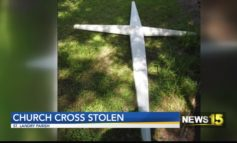 Cross from burned St. Landry Parish church goes missing
