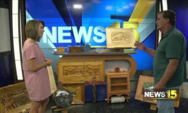 Handmade Wood Carvings By A Local Man In Crowley