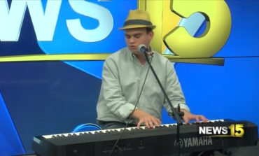 Ethan Hunt The Piano Man Plays For News15 At Noon