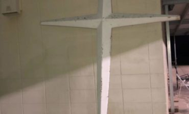 """According to Sheriff Bobby J. Guidroz,  """"The Mount Pleasant Baptist Church's stolen cross has been located"""""""