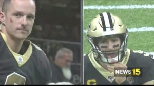 Drew Brees Meets His Look Alike Full Story Only On News15