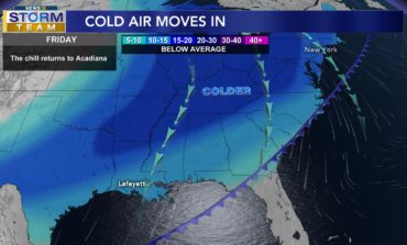 Cold Front #1 Moving in...Then a nice weekend, before the big change comes