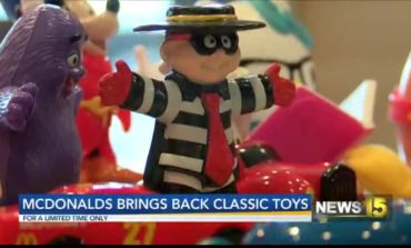 Classic Toys Are Back At McDonald's For Their 40th Anniversary For A Limited Time