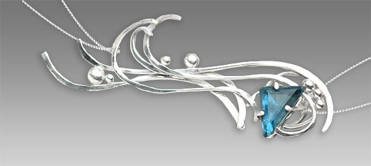 Tideswept Bracelet by Kaelin Design Fine Art Jewelry