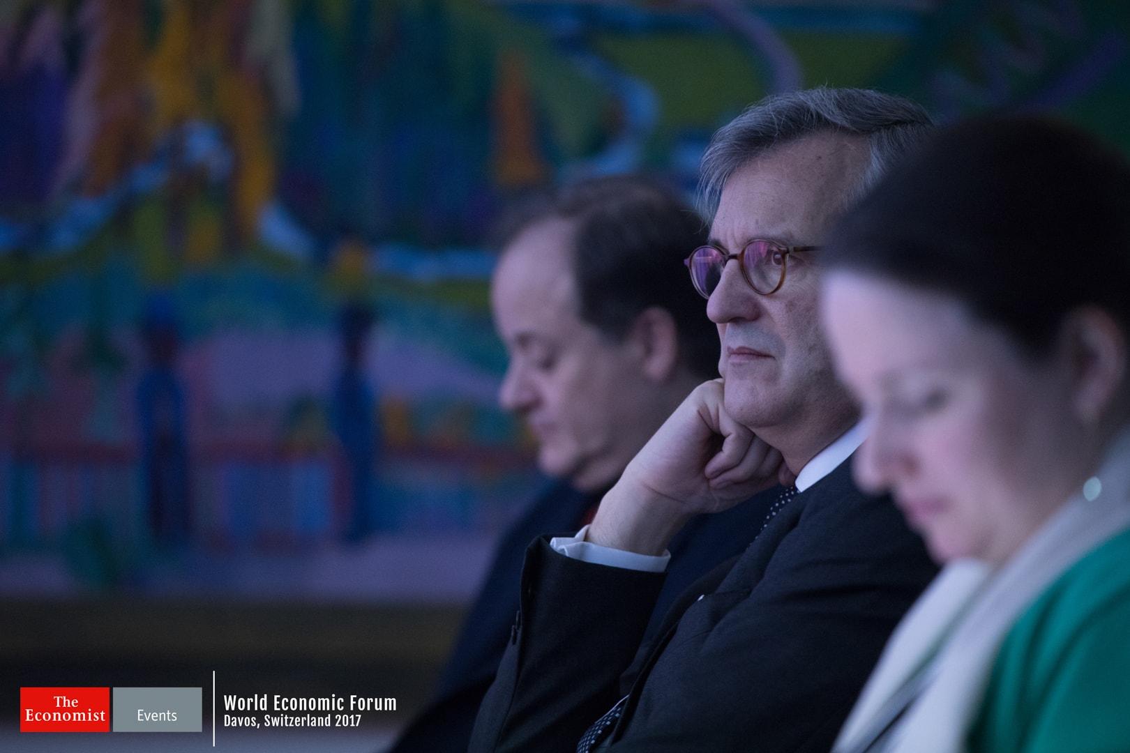 Photograph of Word Economic Forum in Switzeland