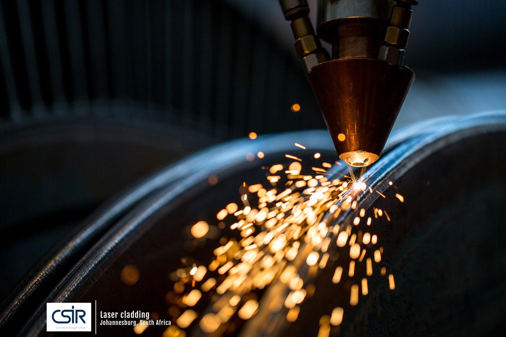 Photo of Laser cladding