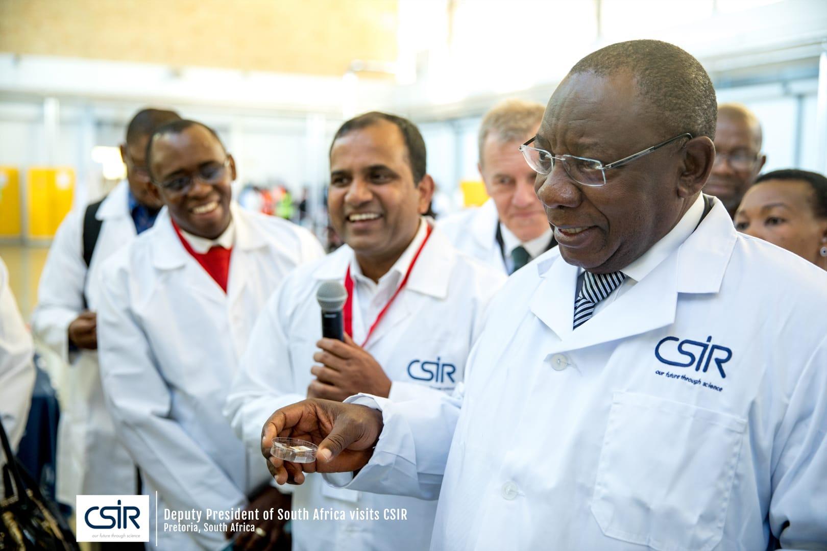 Deputy President of South Africa Visits CSIR