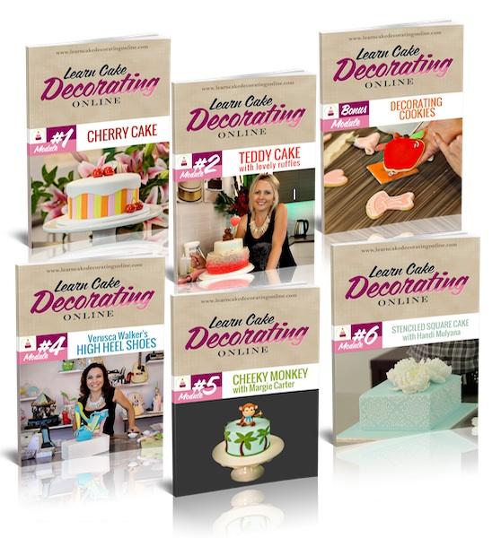 Cake Decorating Ebooks