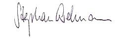 Stephan Erdman Signature