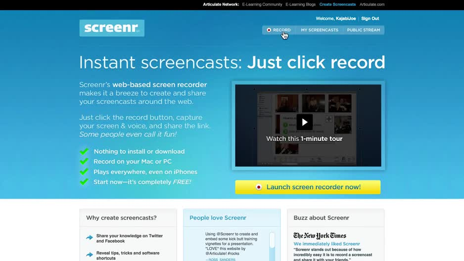Kajabi Next - How To Create Courses Using Only Screencasts - Buy Now