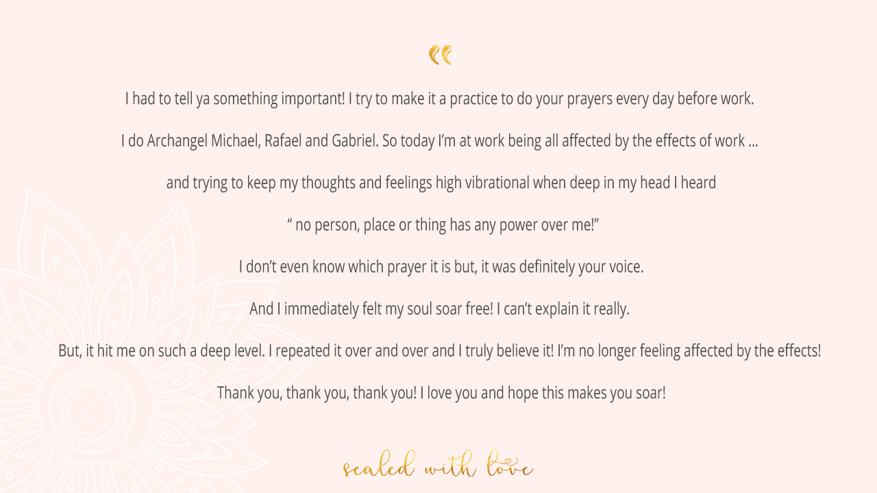 The Power in Your Prayers