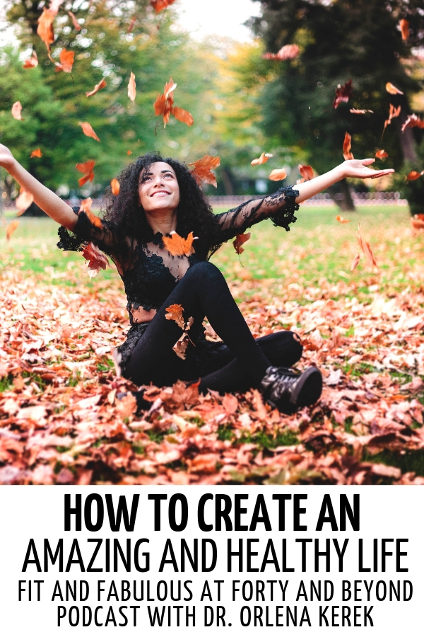 Happy woman throwing leaves over her head #healthy #healthylife #healthyliving #healthylifetips #healthylivingtips #healthylivingmotivation #lifestyle #healthylifestyle #positivity #selfimprovement