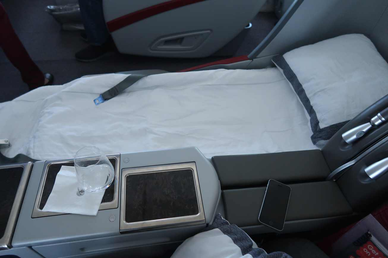 Qatar Airways Business Class Flight Review Onboard The