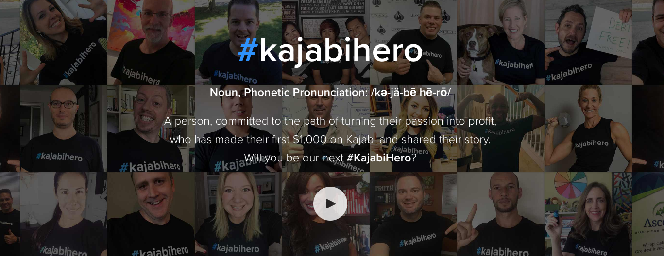 Kajabi Hero Product Examples