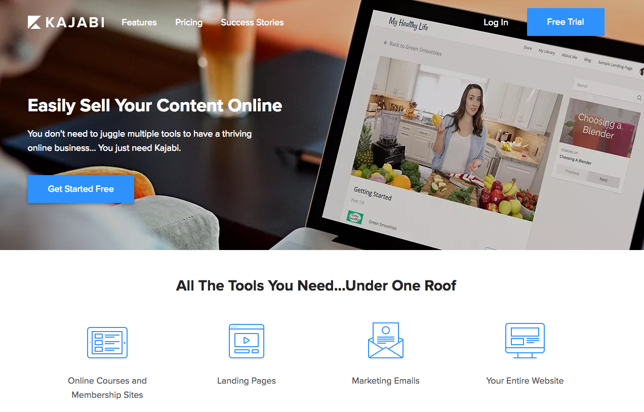 Kajabi - sell your content online