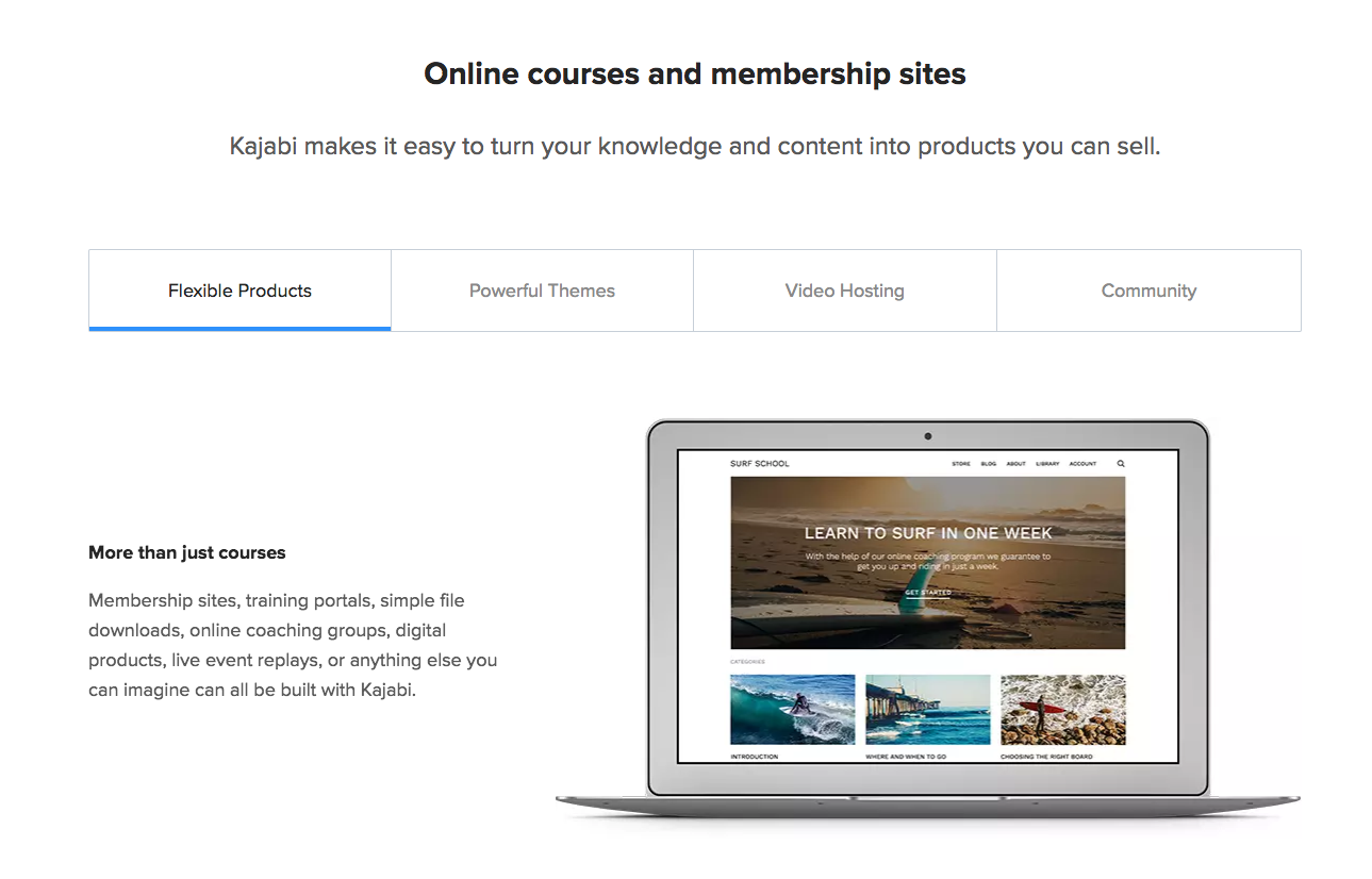 Kajabi - Build Online Courses & Membership Sites