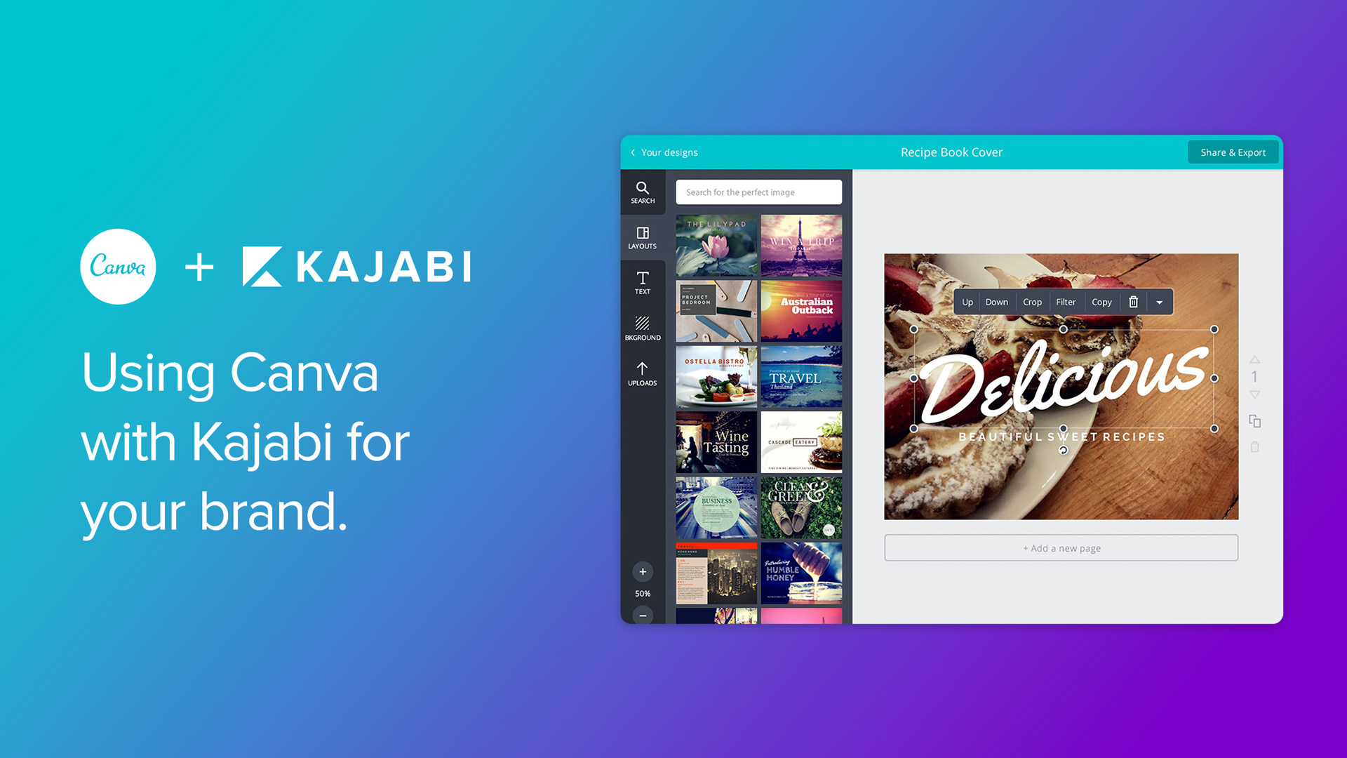Kajabi + Canva for your branding