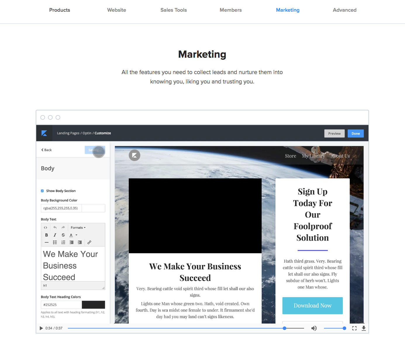 online course marketing tools