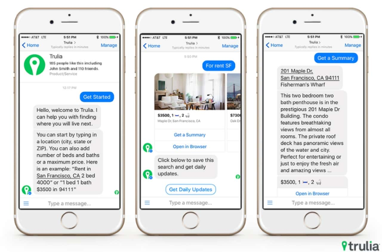 20 Examples of Facebook Messenger Chatbots to Inspire You in 2018