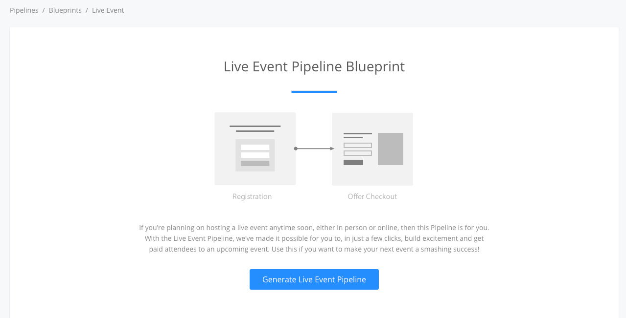 Announcing events a new kajabi building block live event blueprint malvernweather Image collections