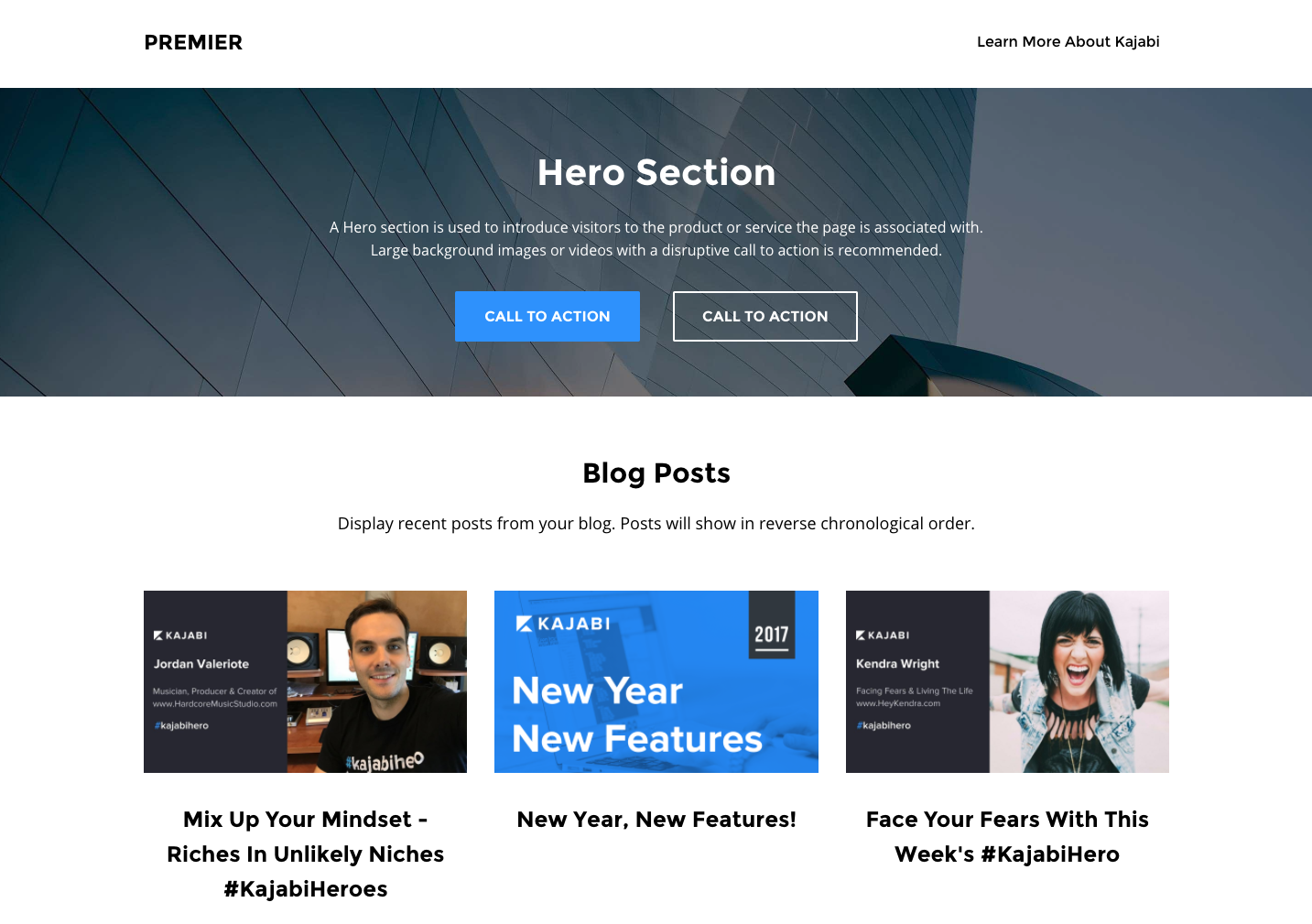 Kajabi - Powerful Landing Page Builder
