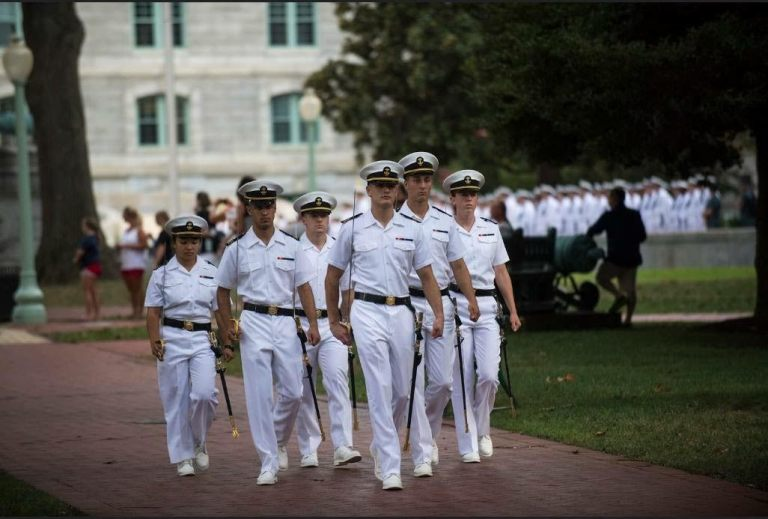 Formal Parades During Plebe Summer at the United States