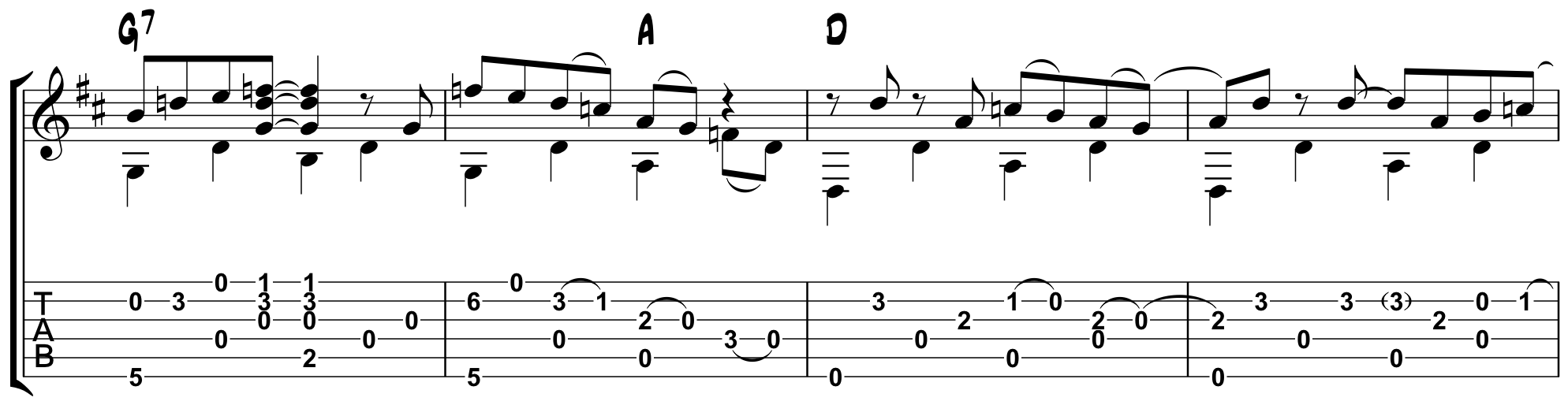 D-Mocracy: Fingerstyle Blues in Dropped-D Tuning