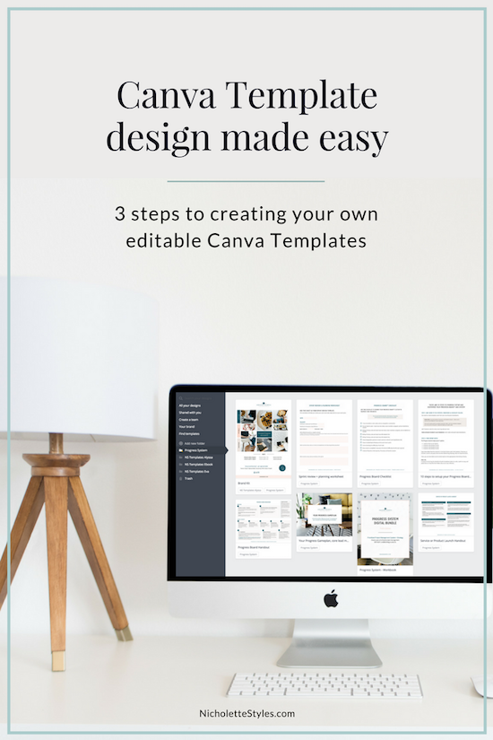 Canva template design made easy