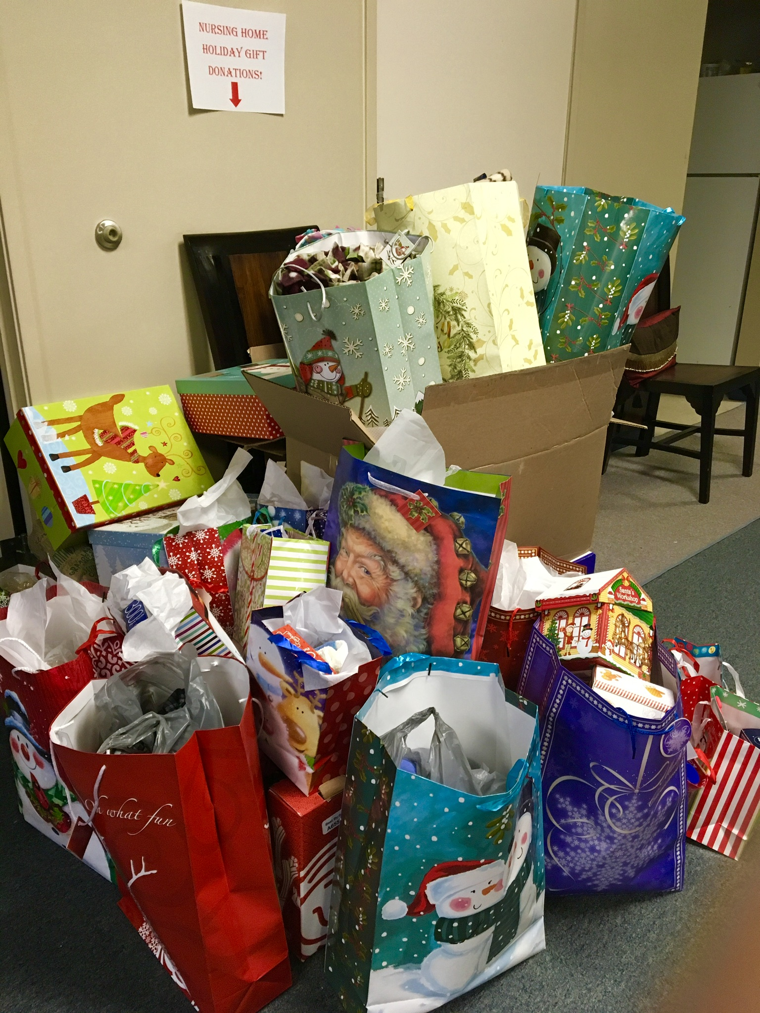 Nursing Home Project 150 Gifts Dozens Of Donors 7 Facilities