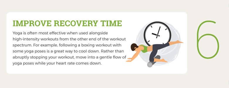 yoga and boxing fitness