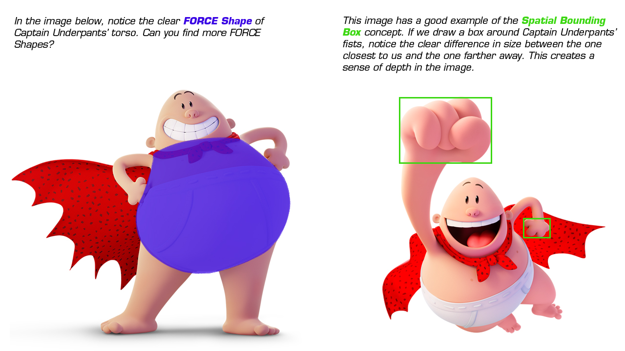 Captain Underpants The First Epic Movie And Force Shapes