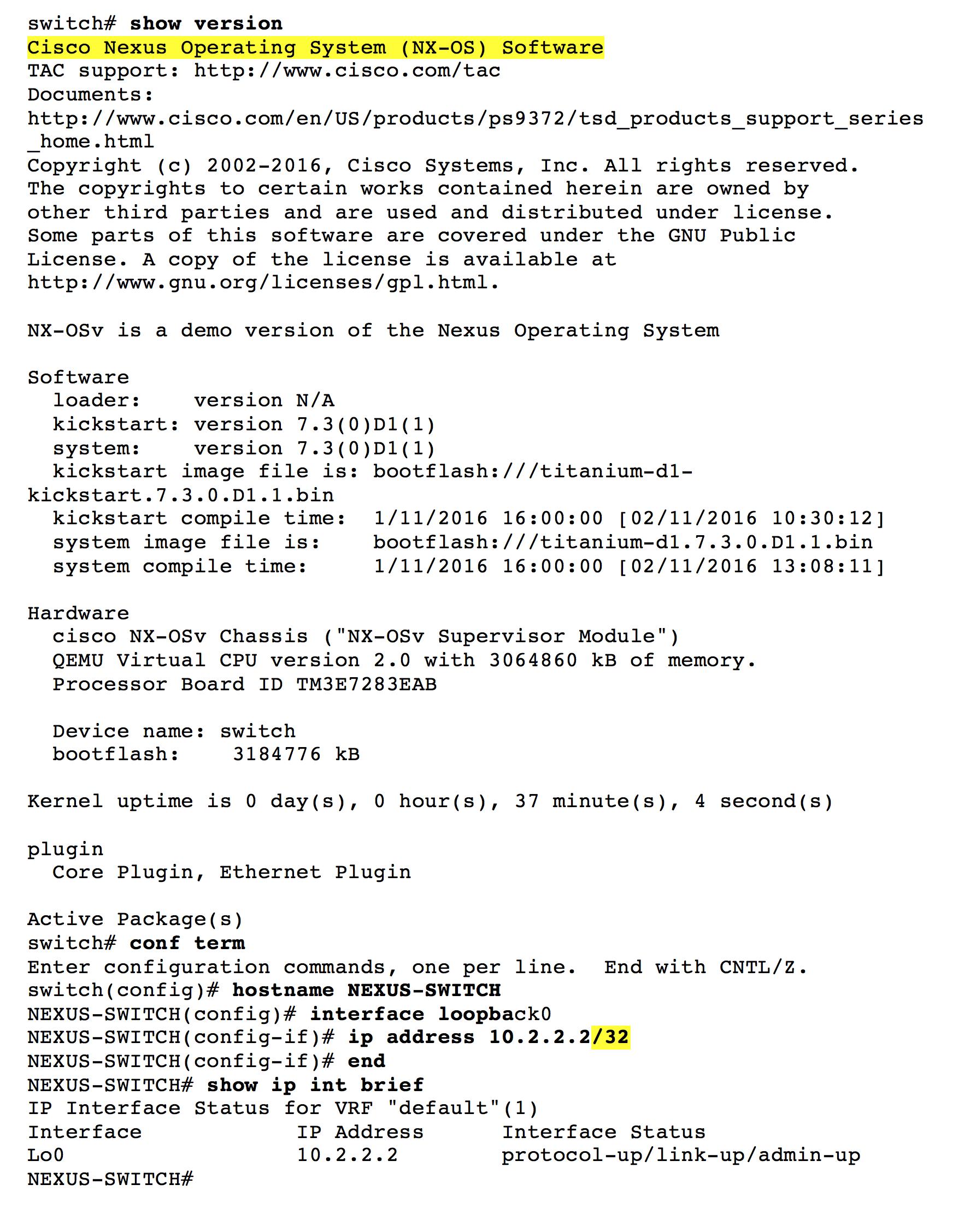 Comparing Cisco IOS, NX-OS, and IOS-XR