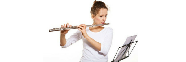 Where can learn to play the flute