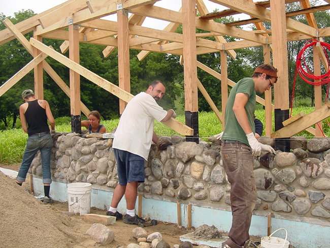 Building the Kensington Kids' Cottage