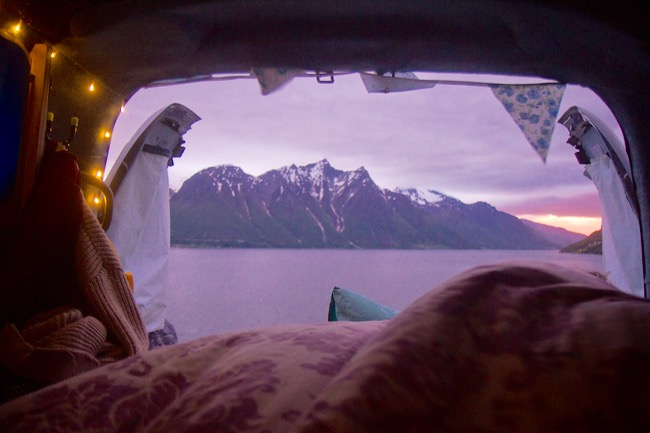 View for the night, Norway.