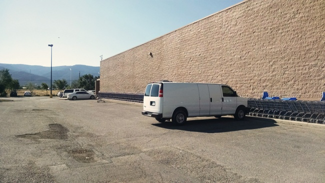 Walmart in Taos, New Mexico