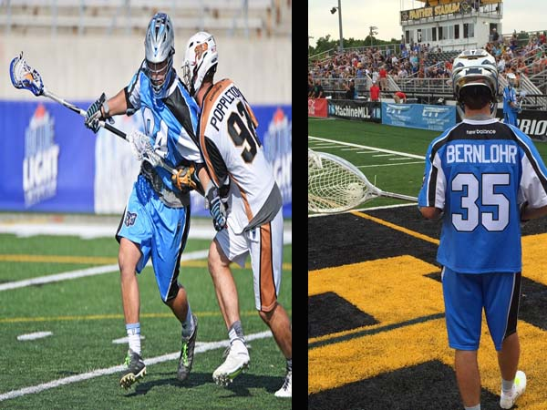 BTB  Lacrosse Coach Jesse Miller talks about Kyle Bernlohr and Greg Puskuldjian