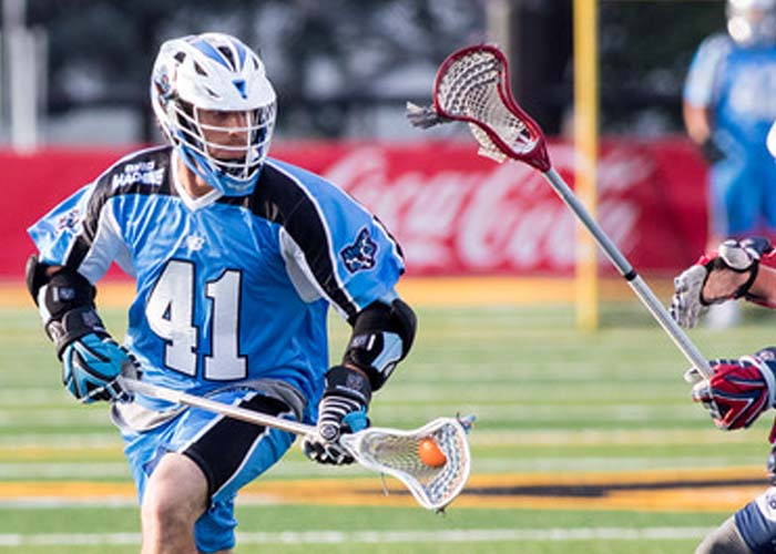 BTB  Lacrosse Coach Jesse Miller talks about Mark Cockerton of the Ohio Machine