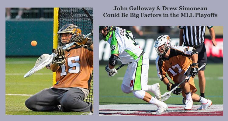 BTB  Lacrosse Coach Jesse Miller talks about Joey Galloway and Drew Simoneau