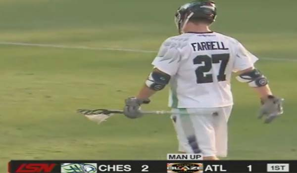 BTB  Lacrosse Coach Jesse Miller talk about Brian Farrell and the Defensive Footwork Formula