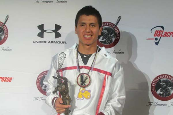 BTB  Lacrosse Coach Jesse Miller talks about Lyle Thompson