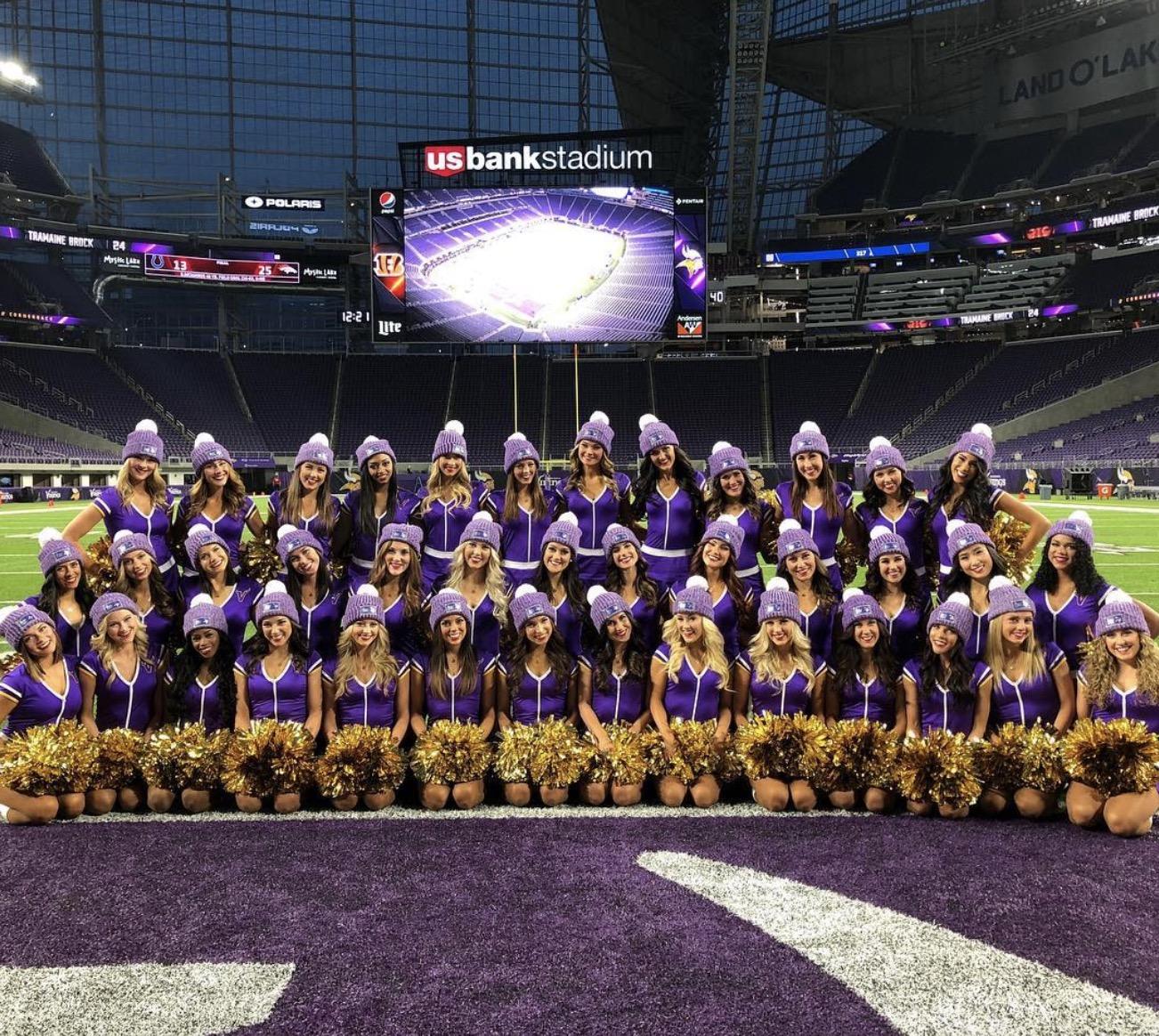 828b2f76 2018 Minnesota Vikings Cheerleading Team Auditions Info