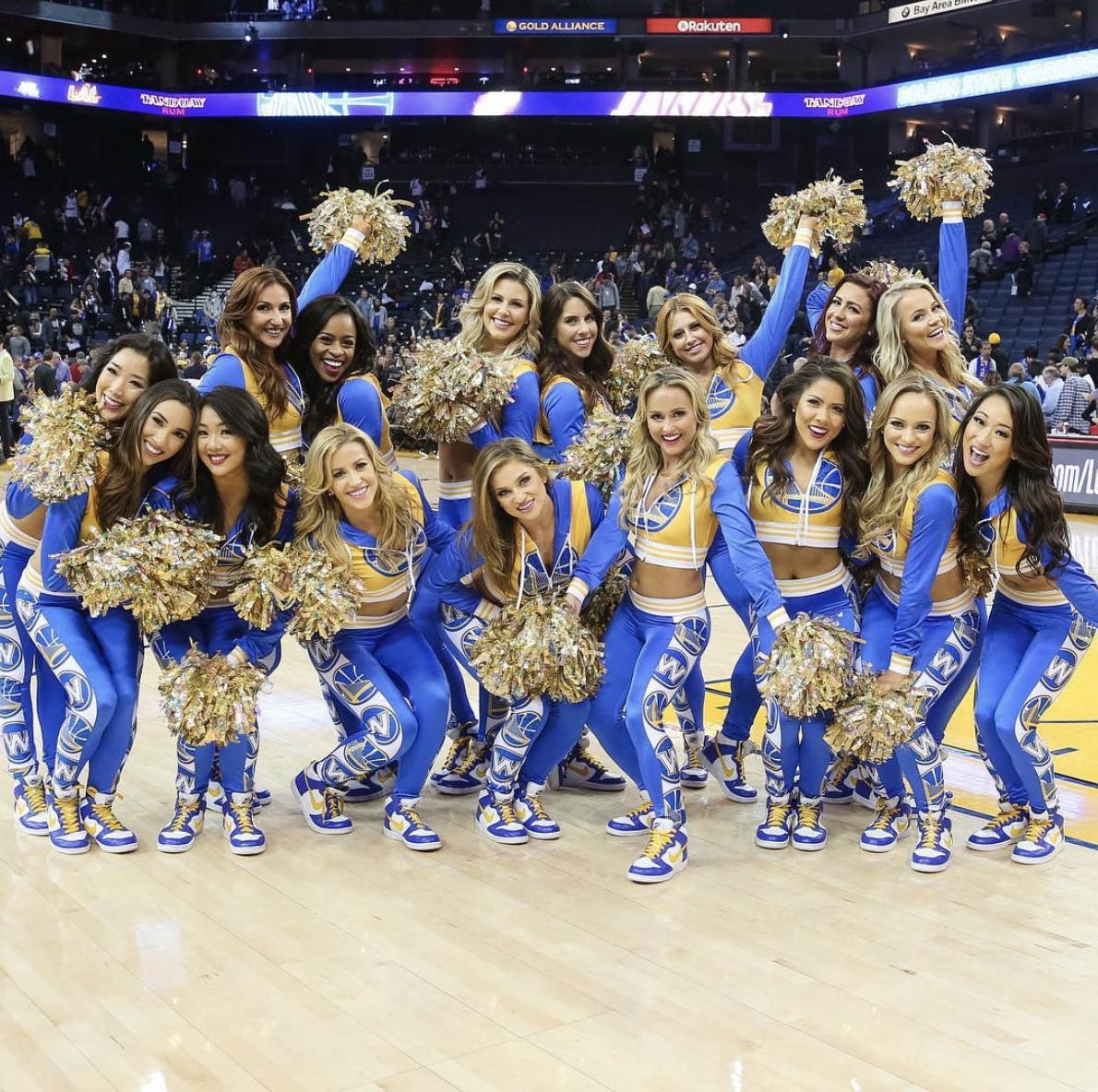 newest ea5e2 bcf7c 2018 Golden State Warriors Dancers Auditions Info