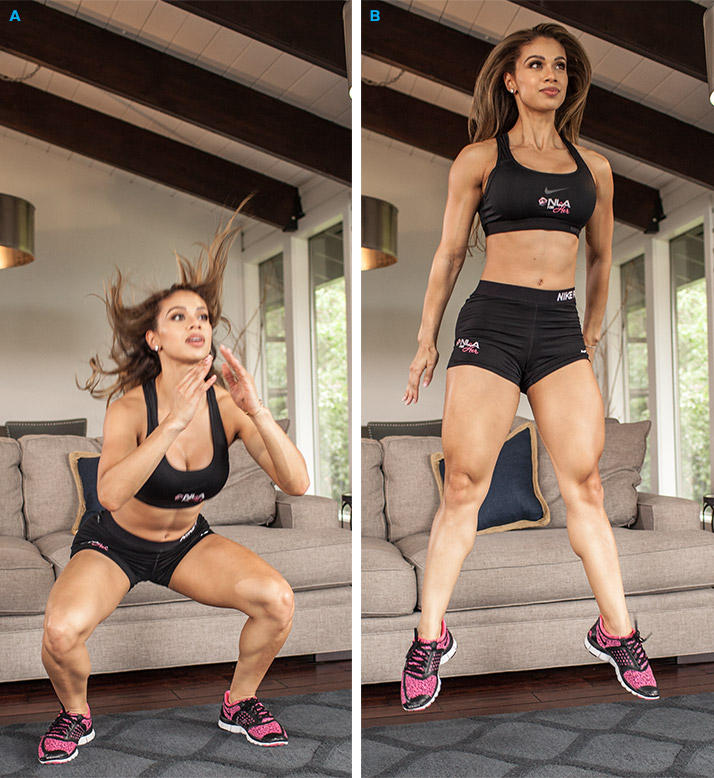 20 Minute Home Legs & Glutes Workout
