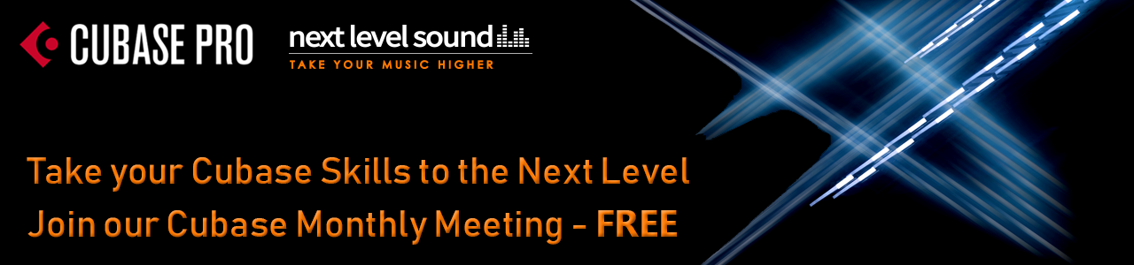 Take your Cubase Skills to the Next Level Join our Cubase Monthly Meeting Free