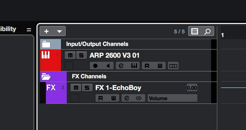 The plugin shows up as an FX channel