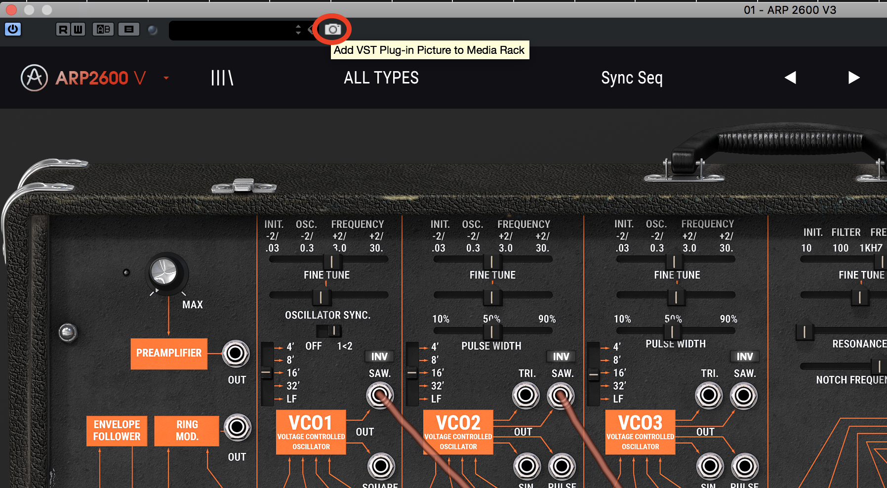 Add VST Plugin Picture to the Media Rack