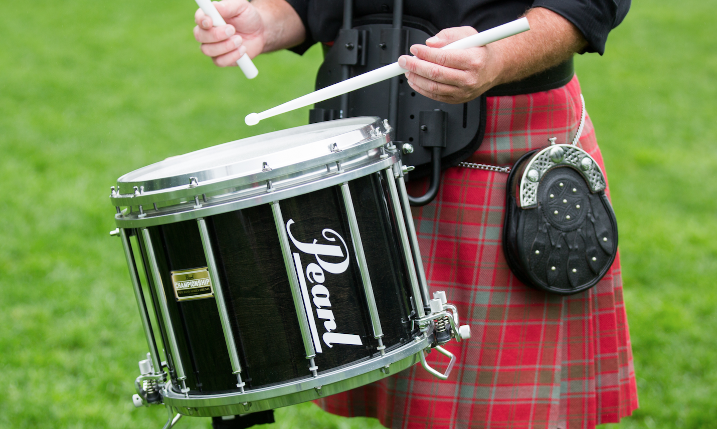 What is Scottish Pipe Band Drumming?