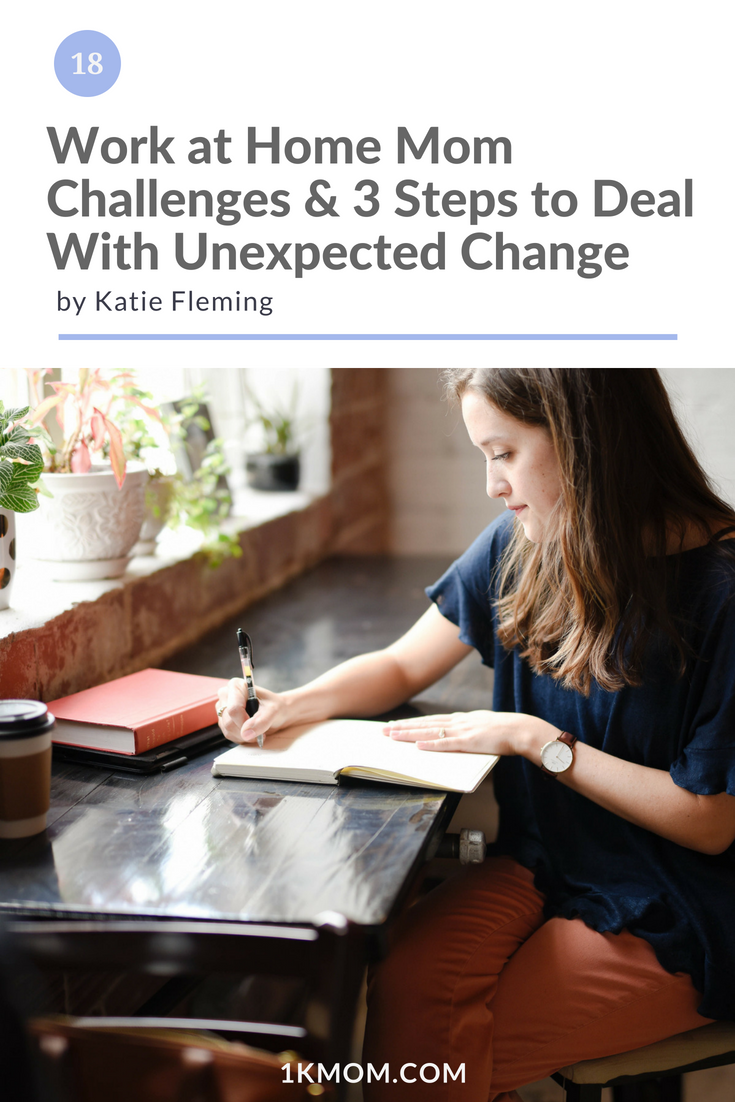 Work at Home Mom Challenges & 3 Steps to Deal With