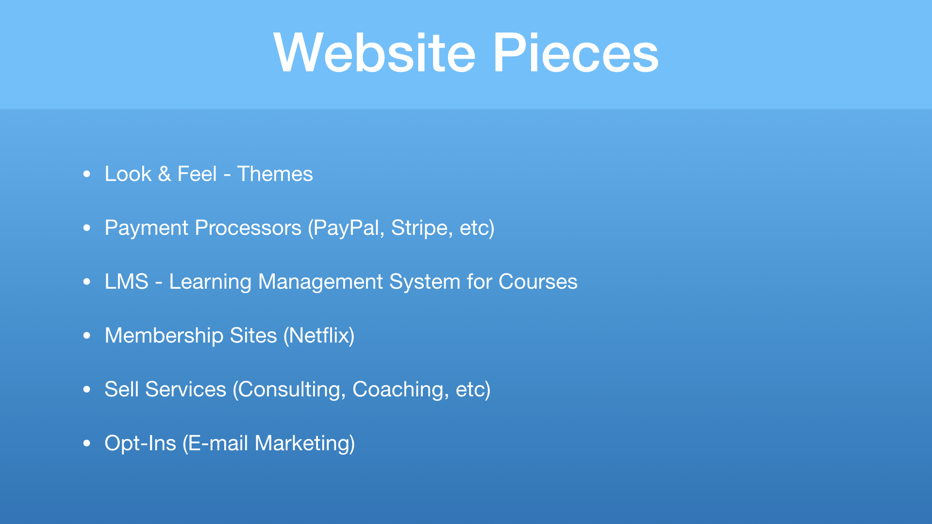 Key Website Pieces for Successful Online Digital Business